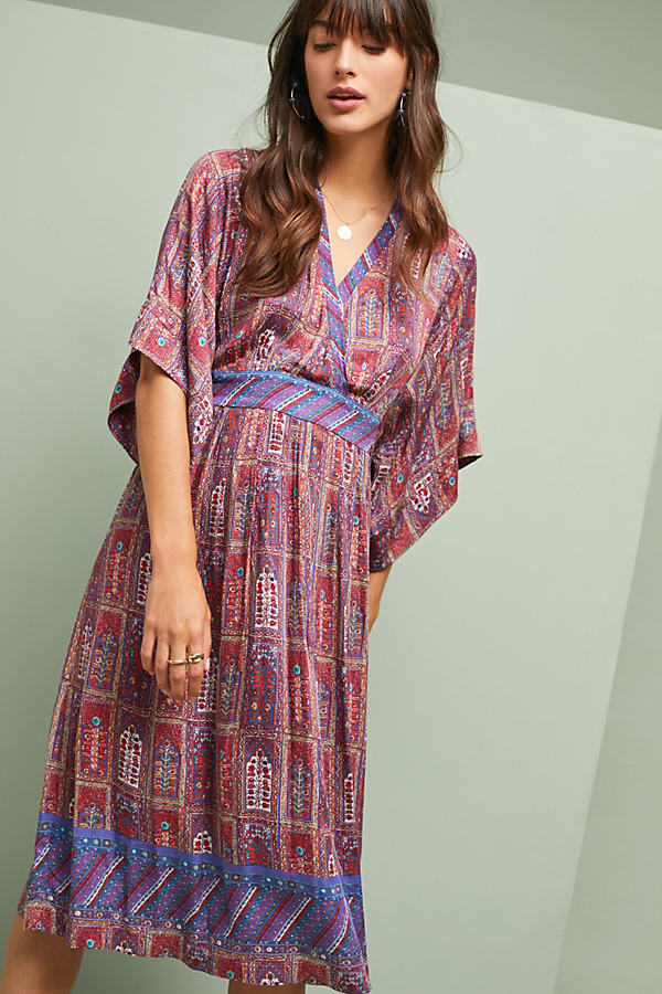 Omina Kimono Dress - Assorted, Size Xl