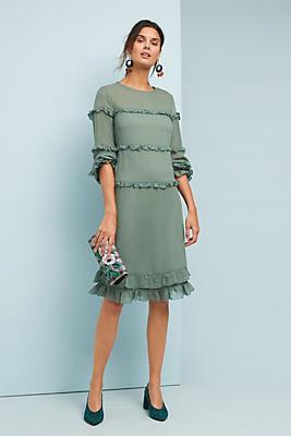 Slide View: 1: Jace Ruffled Dress