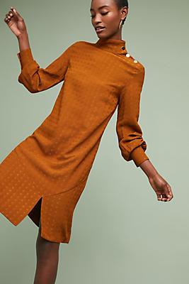 Slide View: 1: Carmen Mock Neck Dress