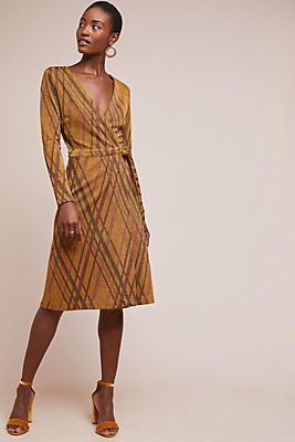 Slide View: 1: Amber Plaid Dress