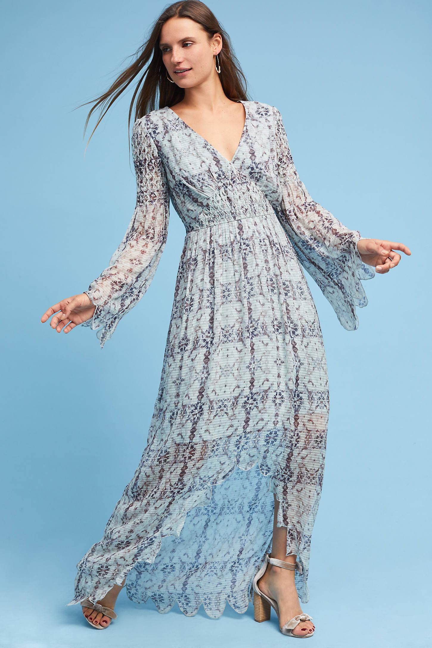 Nyxe Wrap Maxi Dress