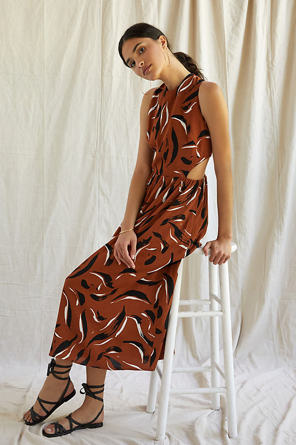 Corey Lynn Calter Abstract Maxi Dress