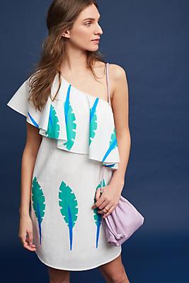 Slide View: 1: Caline Poplin Dress