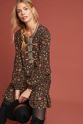 Slide View: 1: Frye Odetta Floral Tunic Dress