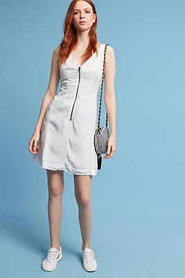 Slide View: 2: Nora Zip-Front Dress