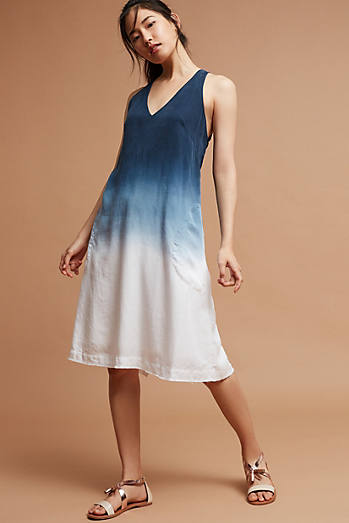 Ashlyn Dip-Dyed Dress