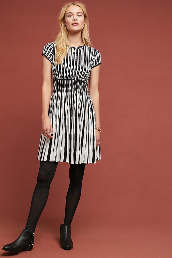 Baird Sweater Dress - Black, Size M