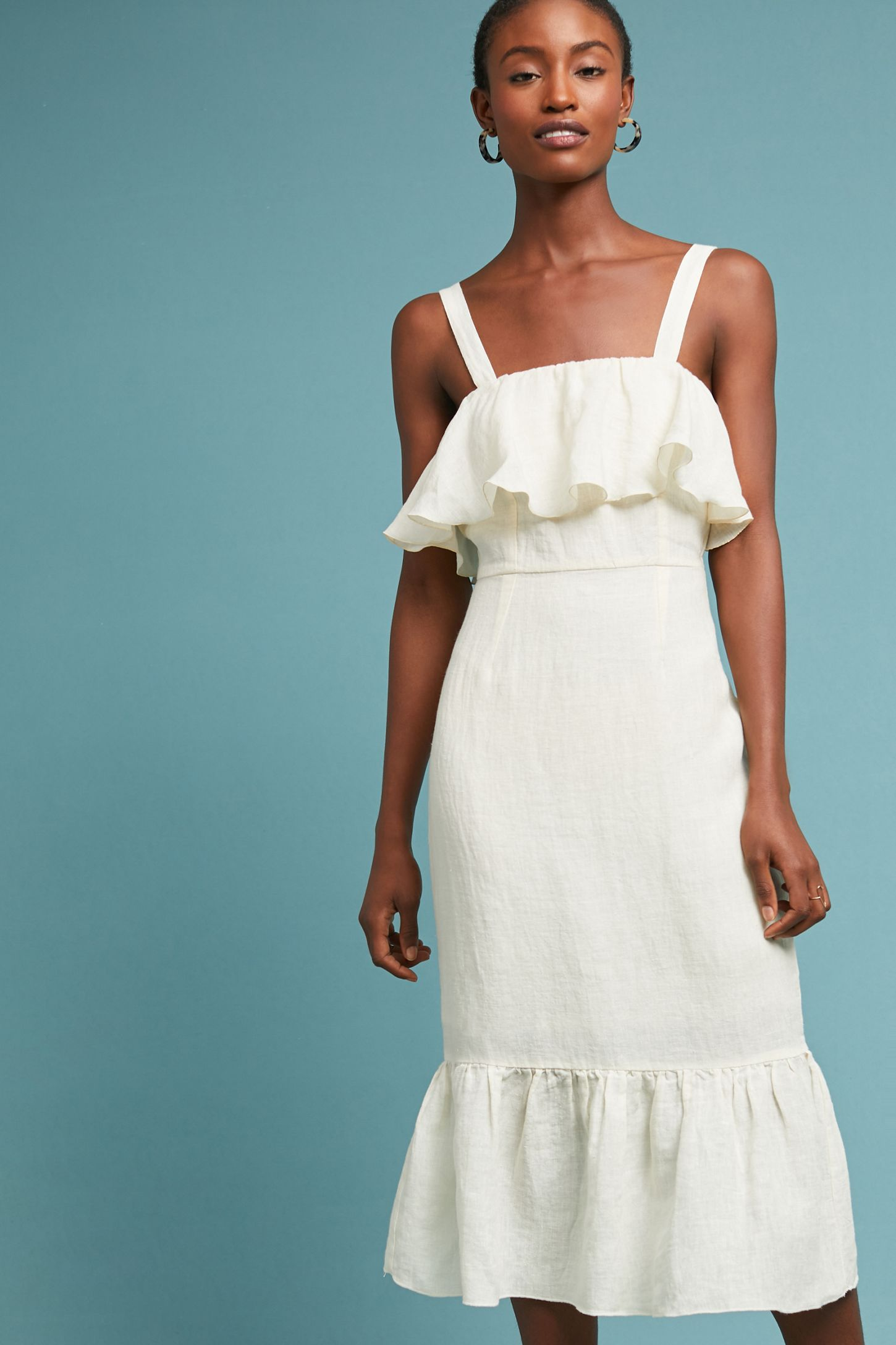 Daydreamer Linen Dress | Anthropologie