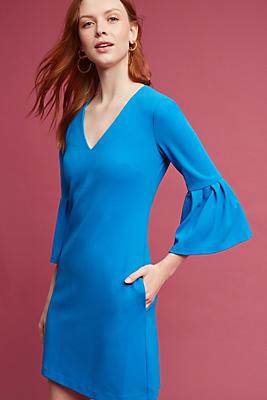 Slide View: 1: Taormina Bell-Sleeve Dress