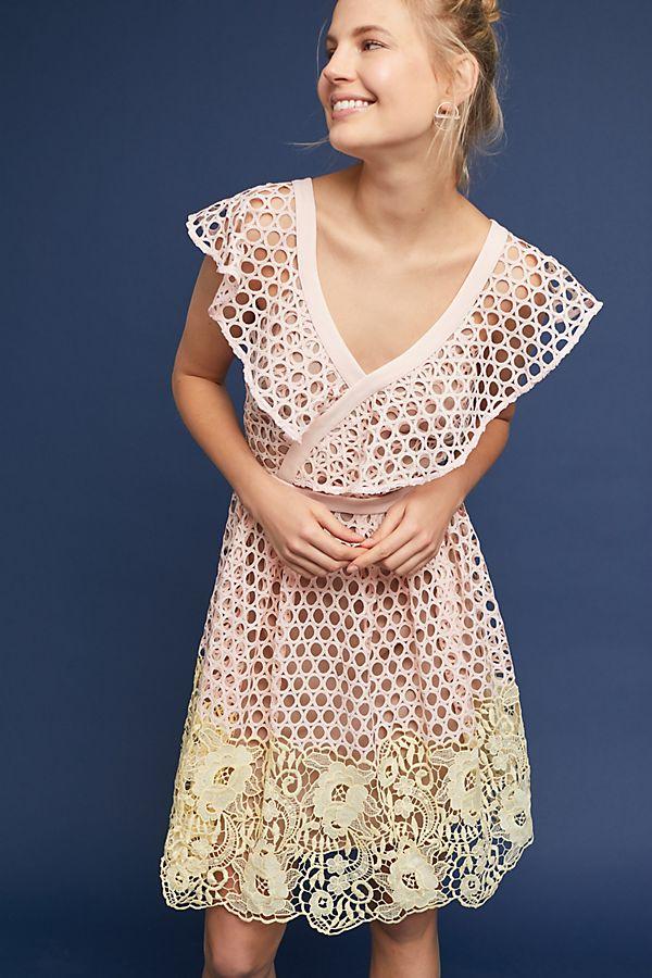 Daisy Eyelet Dress