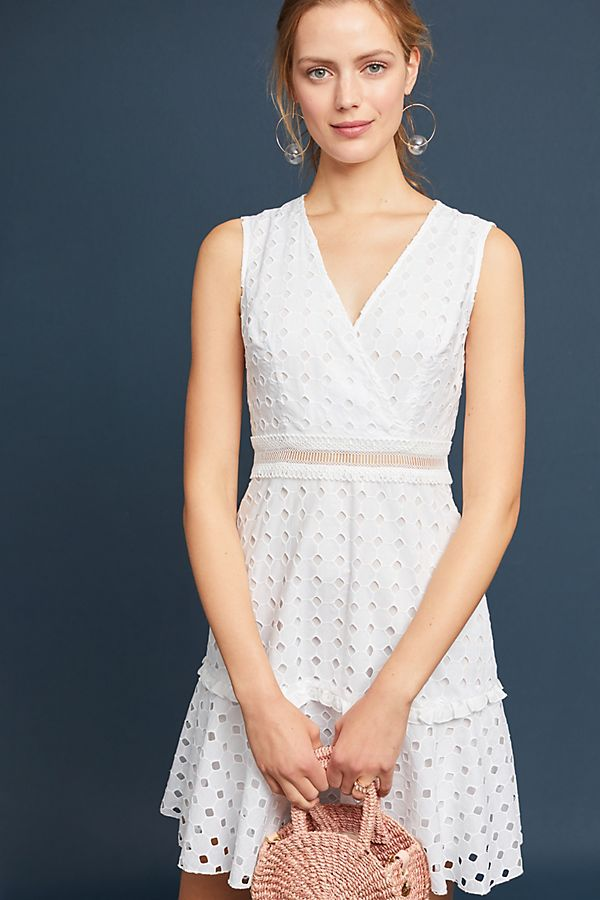 Donna Morgan Eyelet Dress