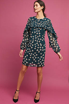 Slide View: 1: Addington Ruffled Dress