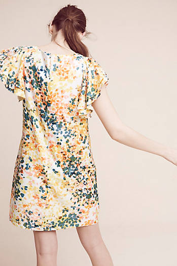 Printed Petals Tunic Dress