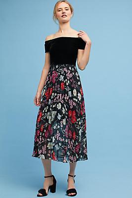 Slide View: 1: Lorina Off-The-Shoulder Dress