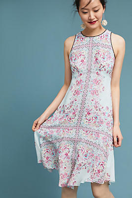 Slide View: 1: Nanette Lepore Versailles Silk Dress