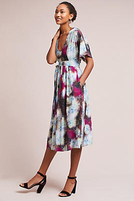 Slide View: 1: Monroe Wrap Dress