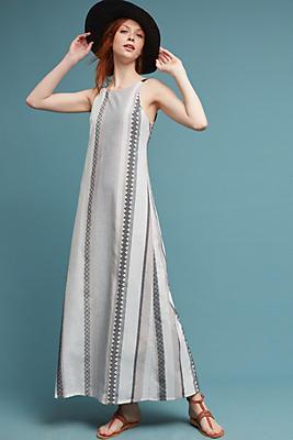 Slide View: 1: Esmera Textured Maxi Dress