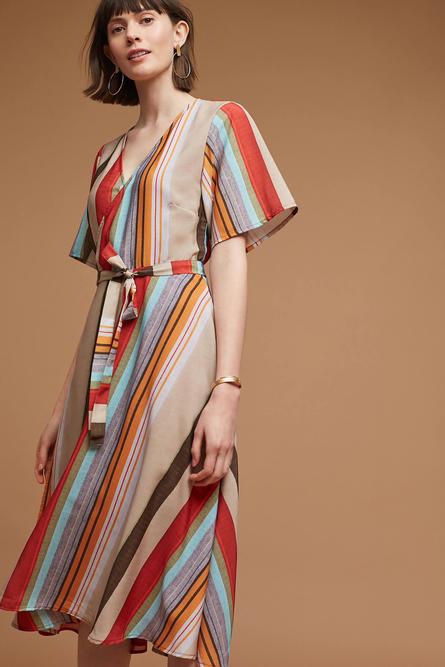 Lana Striped Dress