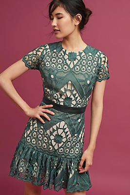 Slide View: 1: Korovilas Esmie Lace Dress