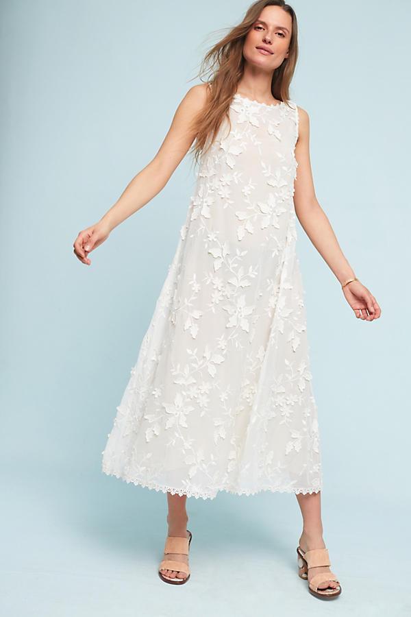 Slide View: 2: Namya Embellished Midi Dress