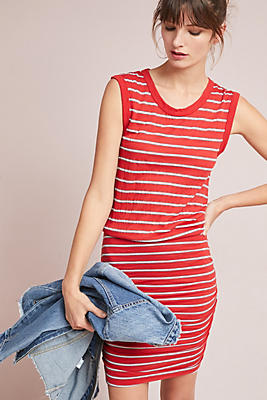 Slide View: 1: Caffari Striped Dress
