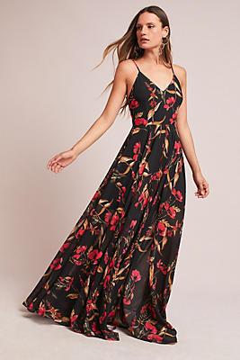 Slide View: 1: Alantra Floral Maxi Dress