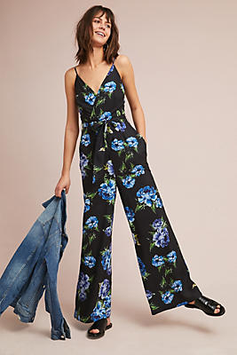 Slide View: 1: Tulip Floral Jumpsuit