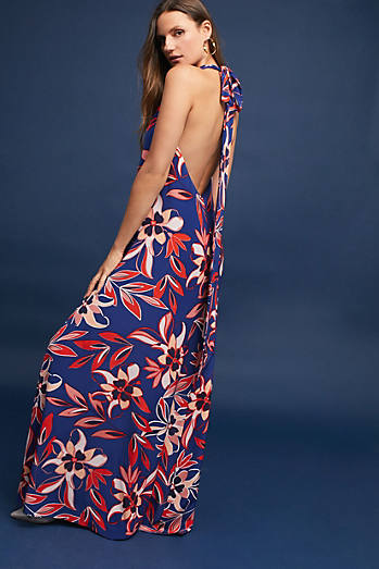Tango Silk Maxi Dress