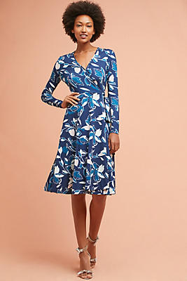 Slide View: 1: Frankie Wrap Dress