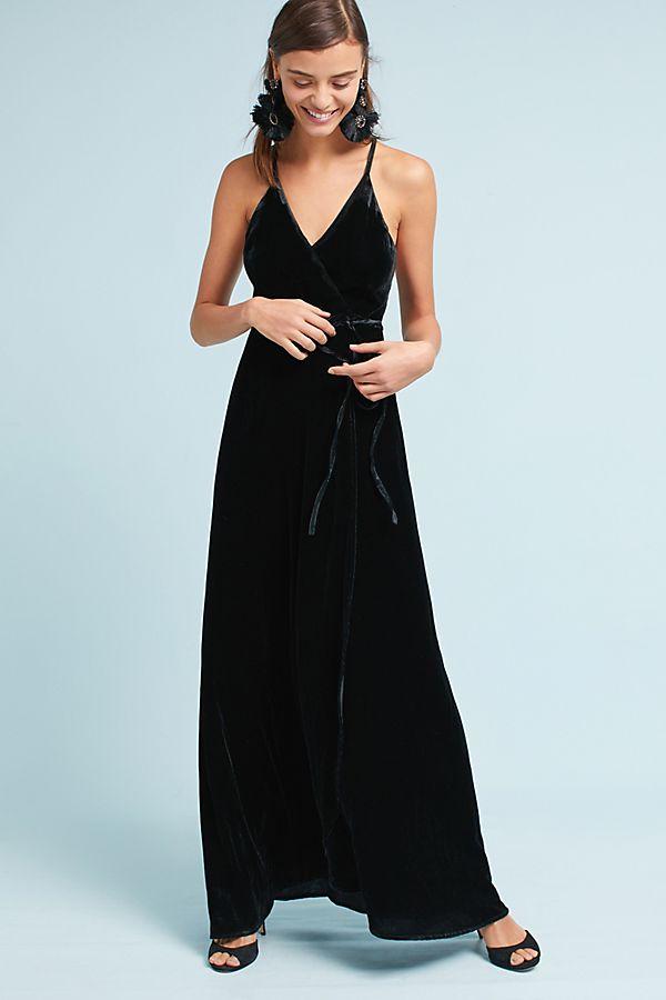 30c3d39571eb Yumi Black Velvet Dress – Little Black Dress   Black Lace Bridesmaid ...