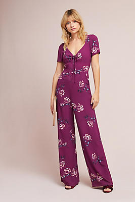 Slide View: 2: Yumi Kim Sweetheart Floral Jumpsuit