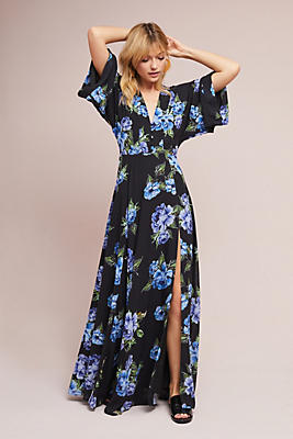 Slide View: 2: Yumi Kim Kimono Maxi Dress