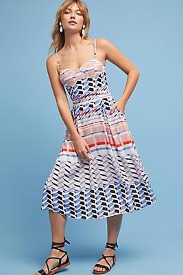Slide View: 1: Elayna Geo Dress