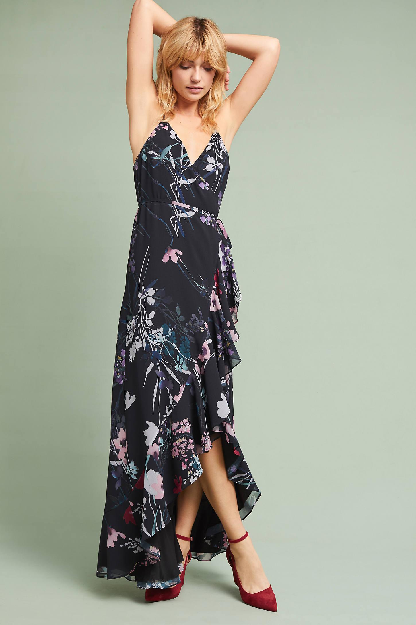 Yumi Kim Fleur Ruffled Wrap Dress
