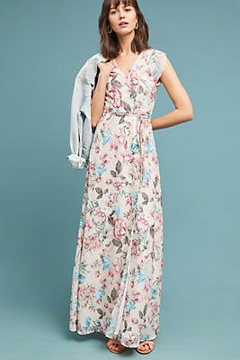 Slide View: 1: Yumi Kim Cerritos Wrapped Maxi Dress
