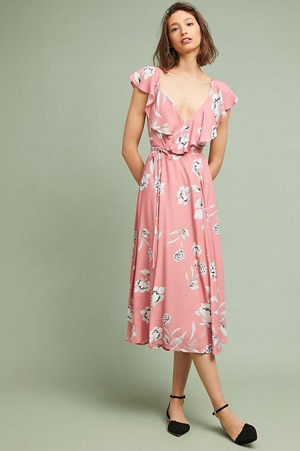 Yumi Kim Darby Wrap Dress Anthropologie