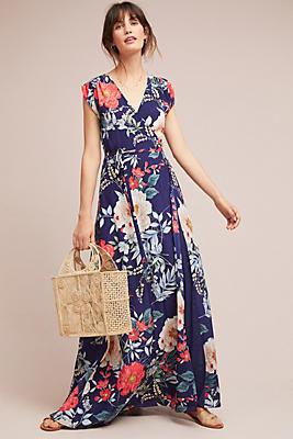 Slide View: 1: Yumi Kim Bora Bora Silk Maxi Dress