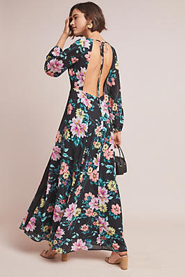 Slide View: 1: Yumi Kim Wild Rose Maxi Dress