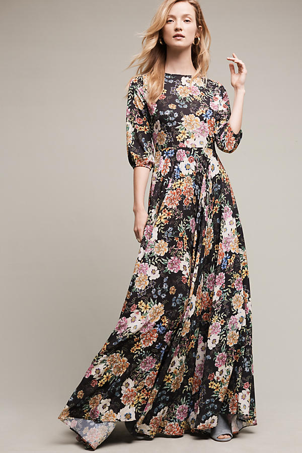 Garden Grown Maxi Dress Anthropologie