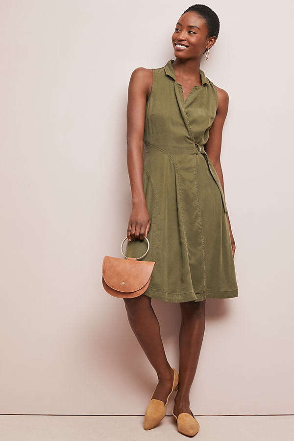 Lexie Shirtdress - Green, Size Uk 6