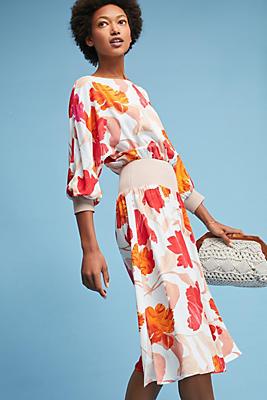 Slide View: 1: Gemma Floral Dress