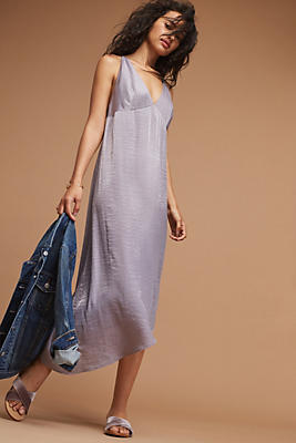 Slide View: 1: Winnie Woven Slip Dress