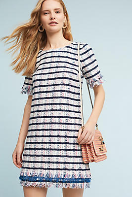Slide View: 1: Miette Textured Tunic Dress