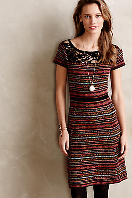 Fairisle Sweater Dress Anthropologie French Canada