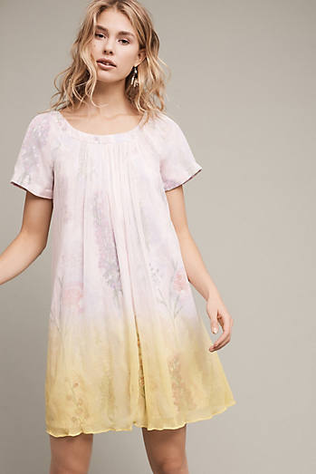Dipped Chroma Swing Dress