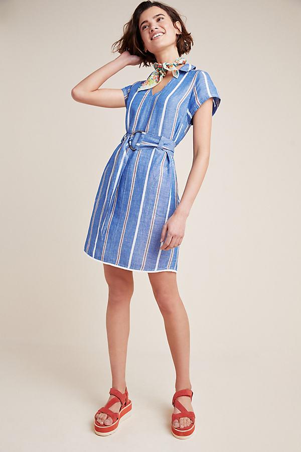 Jolie Striped Dress - Assorted, Size Uk 16