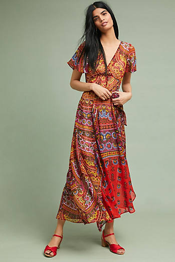 Murol Wrapped Maxi Dress