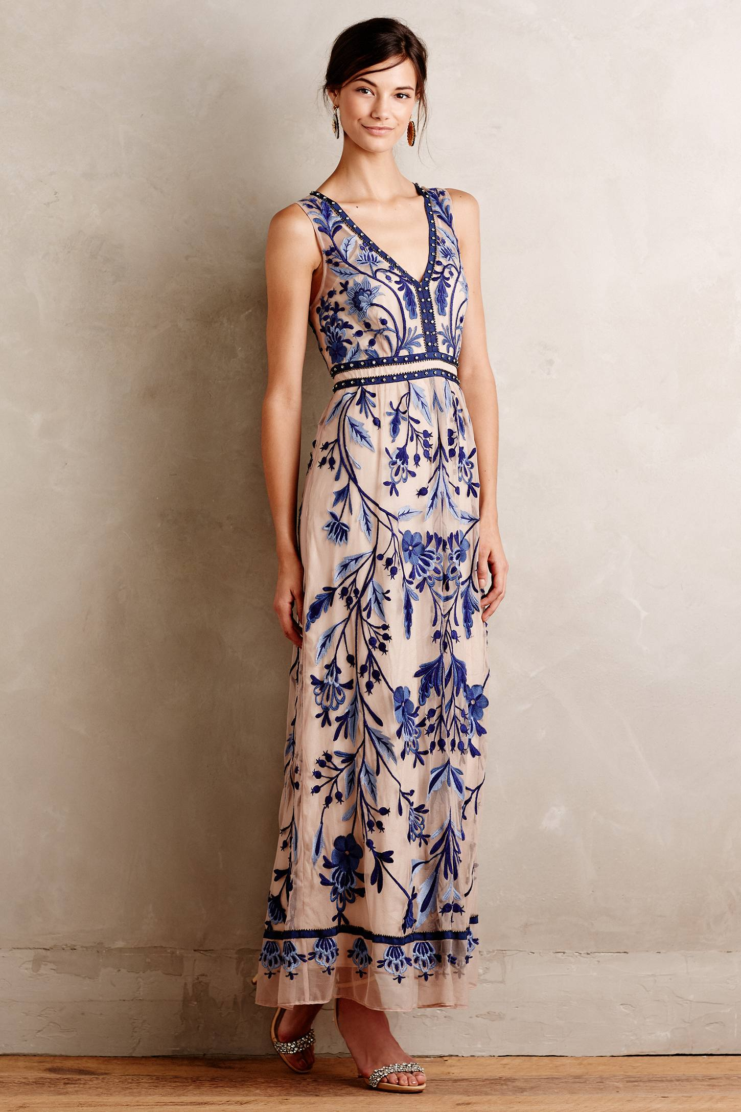 Willowpark Maxi Dress Anthropologie