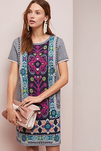 Kaleidoscope Sweater Dress