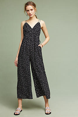Slide View: 1: Finley Wide-Leg Jumpsuit